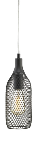 Pendant Lamp (MARKSLÖJD-GRID original) Black/Brass - Three Cubes Lightings (Singapore)