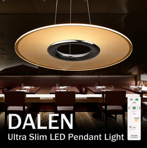 Pendant Light LED DALEN DL-C108T (28W) - Three Cubes Lightings (Singapore)