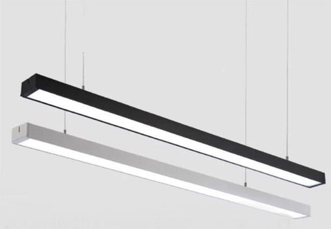Pendant Light Tubular Linear Box 2010 - Three Cubes Lightings (Singapore)