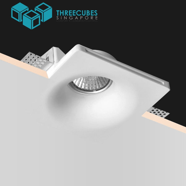 Trimless Frameless Recessed Led Spotlight Double Downlights Gu10 Mr16