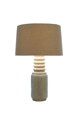 Lamp clearance piece 2 tones small table lamp clearance piece 2 tones small aloadofball Image collections