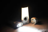 Night Light LED Torch (AZEL MOON) - Three Cubes Lightings (Singapore)