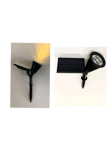 Solar Outdoor Garden Spike Light 1 - Three Cubes Lightings (Singapore)
