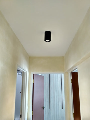 Led Adjustable Surface Mount Cylinder Milo Spotlight