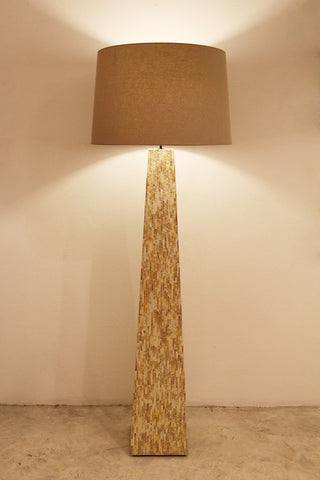 [OUT OF STOCK] Floor Lamp (Clearance Piece) Green Line Pearl - Three Cubes Lightings (Singapore)