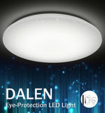 LED Ceiling Light DALEN DL-C103X (24W) - Three Cubes Lightings (Singapore)