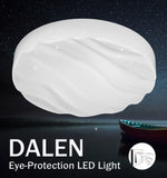 LED Ceiling Light DALEN DL-C20E(X) (24W) - Three Cubes Lightings (Singapore)