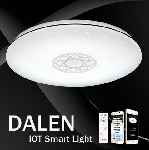 LED Ceiling Light DALEN DL-C216TX  (38W) - Three Cubes Lightings (Singapore)