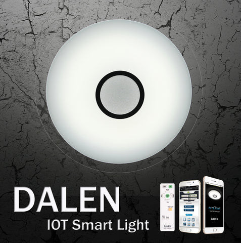LED Ceiling Light DALEN DL-C319T/TX  (38W) - Three Cubes Lightings (Singapore)