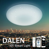 LED Ceiling Light DALEN DL-C415TX (38W) - Three Cubes Lightings (Singapore)