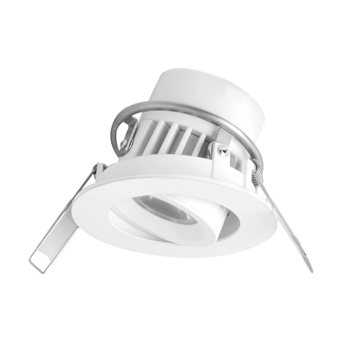 SIENA Adjustable Recessed Downlight (Integrated) 8W Megaman® - Three Cubes Lightings (Singapore)