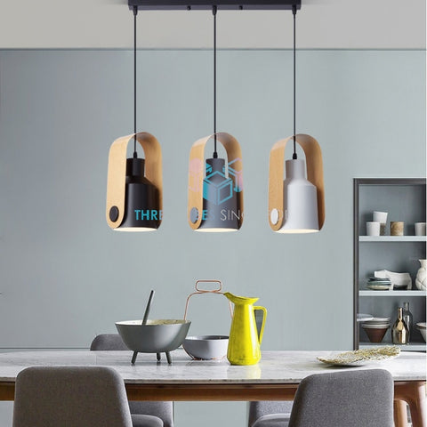 Pendant Lamp (Milkbot 2) - Three Cubes Lightings (Singapore)