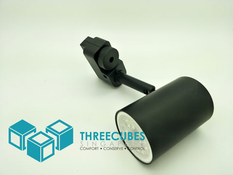 Track Lights GU10 Fitting BASIC (LED Bulbs and track sold separately) - Three Cubes Lightings (Singapore)