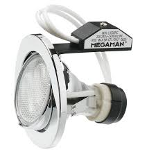 MAX Adjustable Recessed Downlight (PAR16) Megaman® Holder (GU10) - Three Cubes Lightings (Singapore)