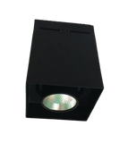 LED Black Square Surface Mount Downlights (18W/25W) - Three Cubes Lightings (Singapore)