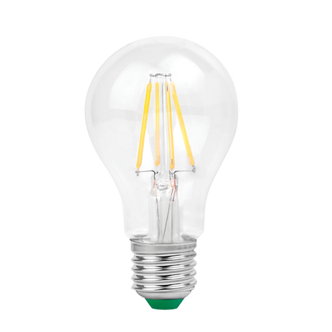 LED Filament E27 Lamp (A60) non dimming - Three Cubes Lightings (Singapore)
