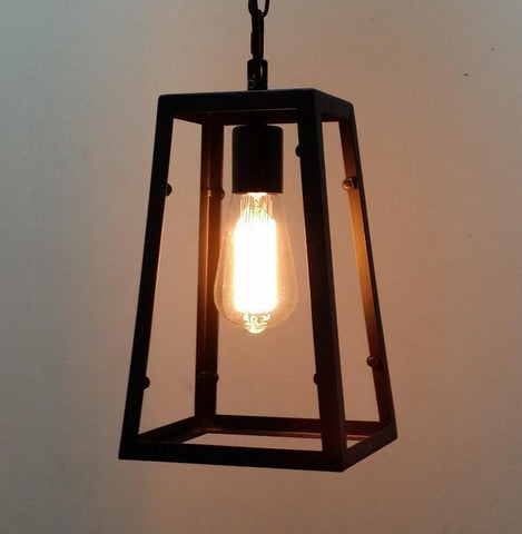 Pendant Lamp (RH reproduction Loft Single-no glass) - Three Cubes Lightings (Singapore)