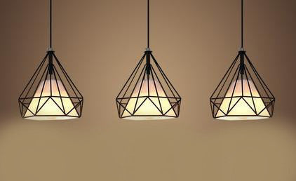Pendant Lamp (KR- reproduction 3 in 1) - Three Cubes Lightings (Singapore)