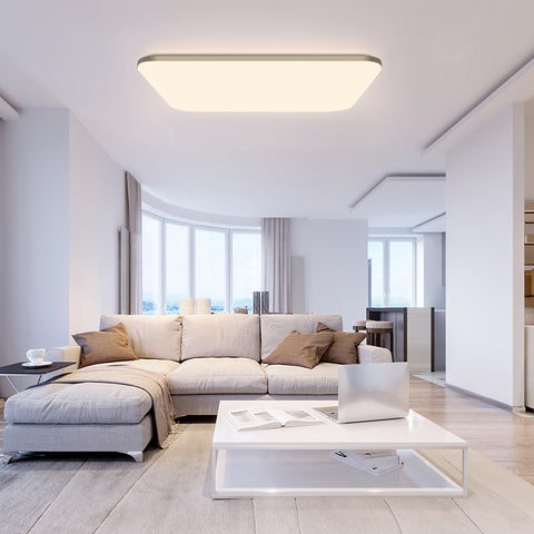 Yeelight HALO PRO LED Ceiling Light (Rectangle)with Gold Side Trim - Three Cubes Lightings (Singapore)