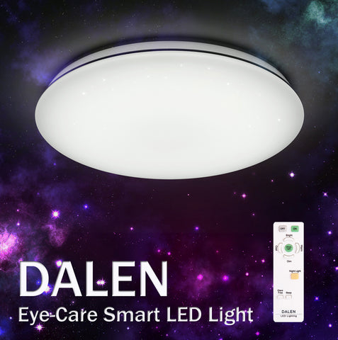 LED Ceiling Light DALEN DL-S28TX (28W) - Three Cubes Lightings (Singapore)