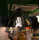 Designer Pendant Lamp With Twisted Bulb