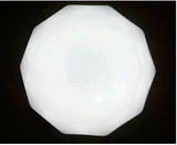 LED Decagon Ceiling Lamp (48W RGB 3 tones) - Three Cubes Lightings (Singapore)