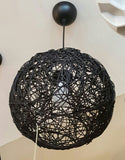 Pendant Lamp (Rattan Ball) - Three Cubes Lightings (Singapore)