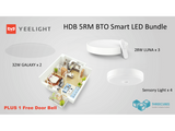 HDB BTO 5 Room SMART-NATION LED Bundle (YEELIGHT)