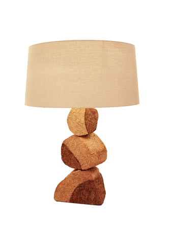 Table Lamp (Beaten Medium) - Three Cubes Lightings (Singapore)