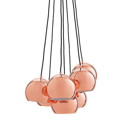 Pendant Lamp (Benny Frandsen BALL MULTI Copper original) - Three Cubes Lightings (Singapore)