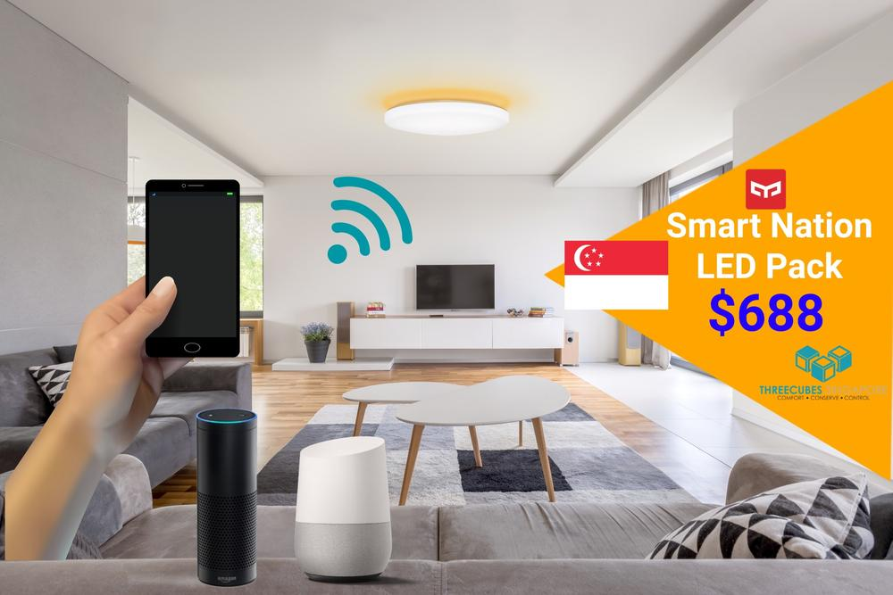 Threecubes HDB BTO Smart Light Bundle