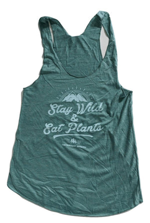 Stay Wild & Eat Plants Tank