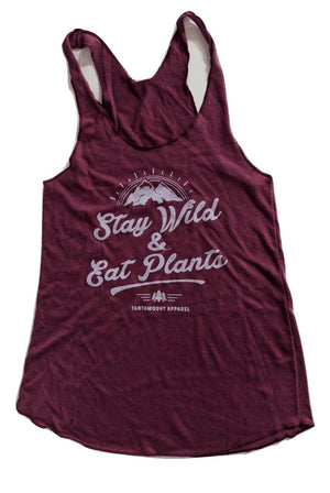 Stay Wild & Eat Plants Tank | Tantamount Apparel