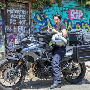 INTERVIEW | Crazy Lady on a Motorbike
