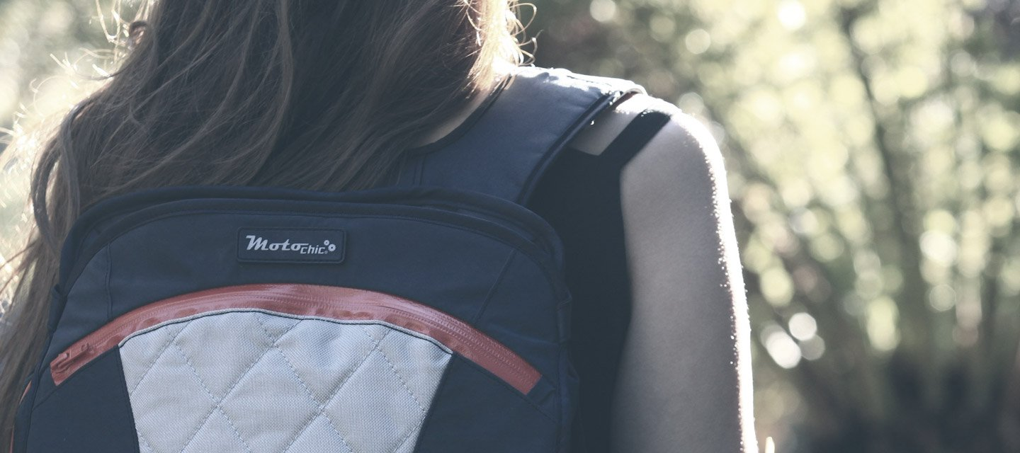 MotoChic backpacks and totes at Moto Femmes online australia