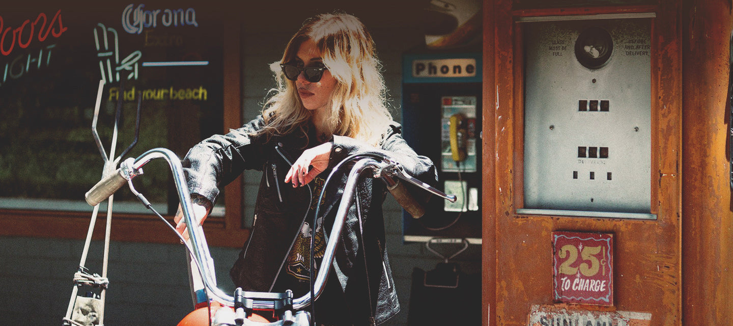 Women's Leather Motorcycle Jackets | Moto Femmes Australia