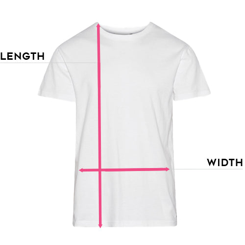 T Shirt size guide for Clutch Moto tops