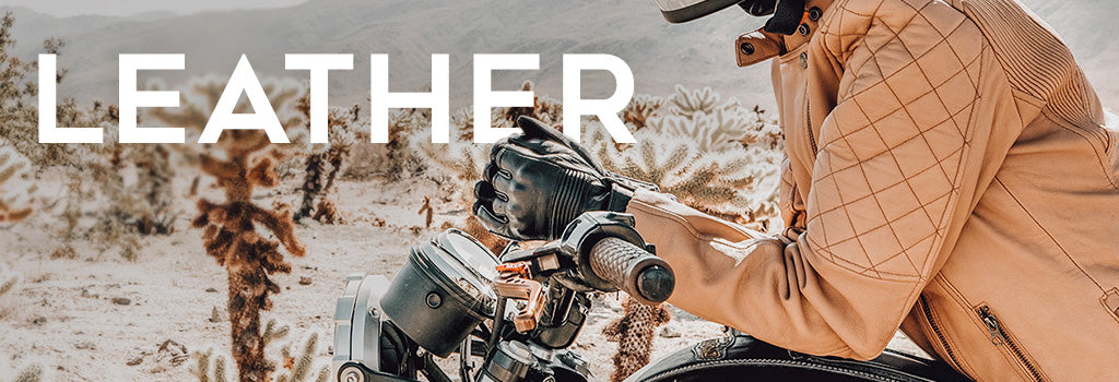what to know about buying leather motorcycle gear