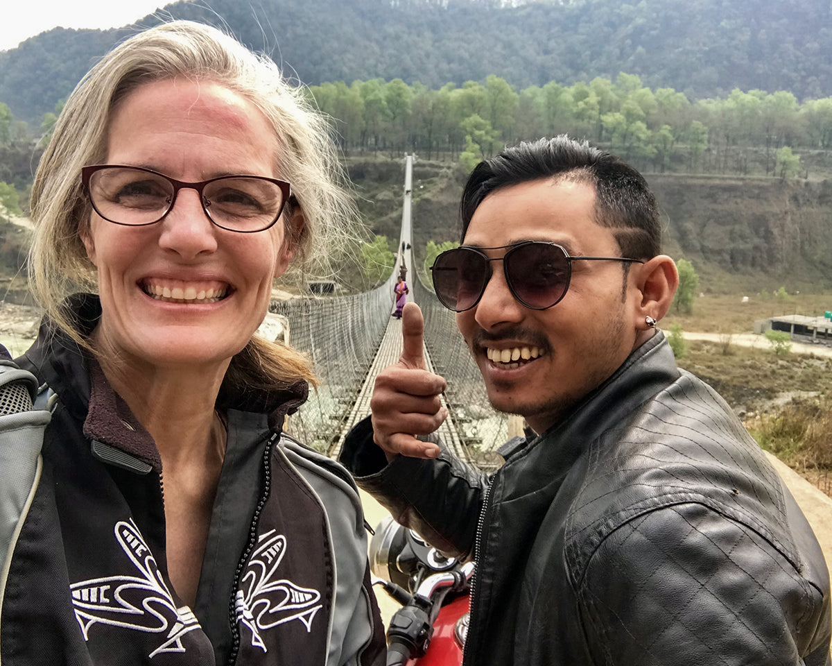 Nepal 2019 Suspension Bridge