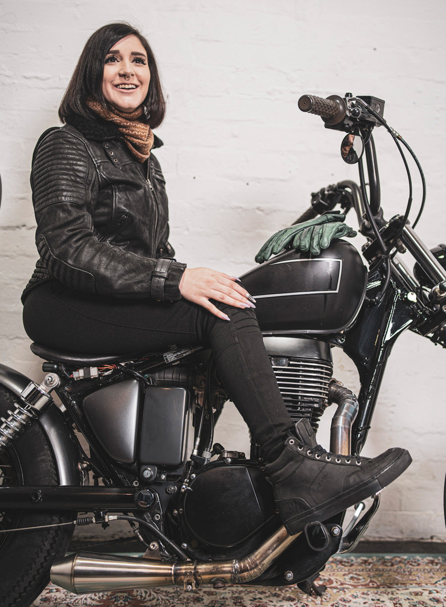 women who ride motorcycles
