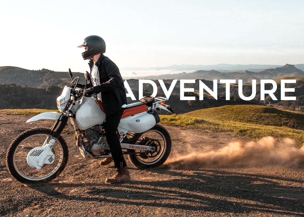 Motorcycle types - adventure
