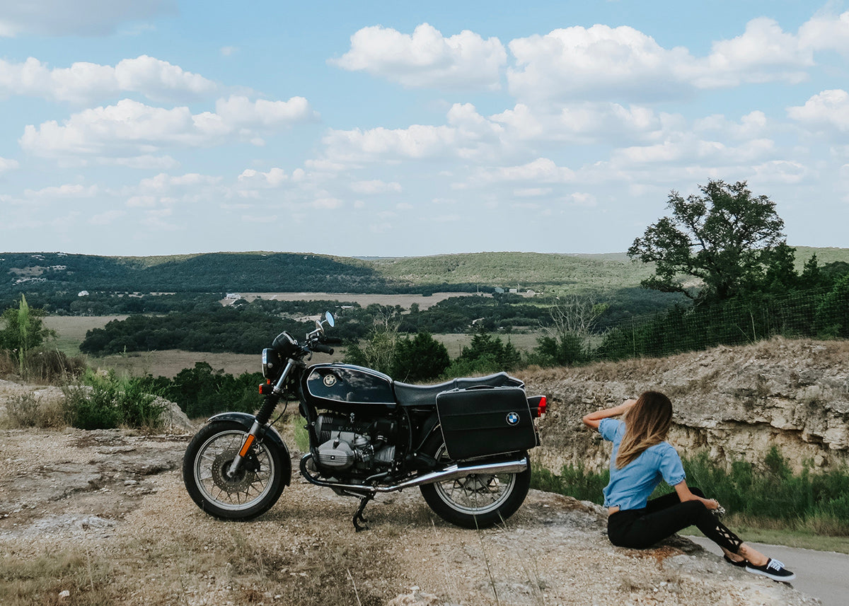 Ana in Wimberley - Her Story Moto Est.