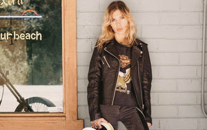 Black Arrow Label online at Moto Femmes Australia