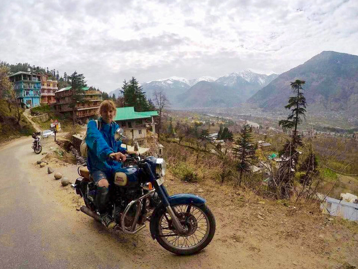 Travelling with a Royal Enfield