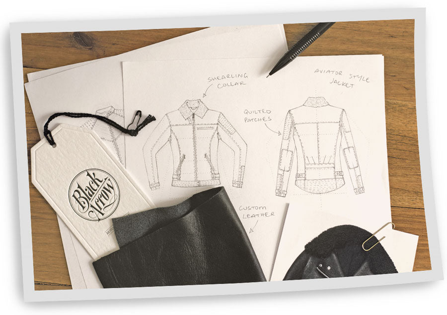 Designing womens motorcycle clothing - Hannah from Black Arrow Label