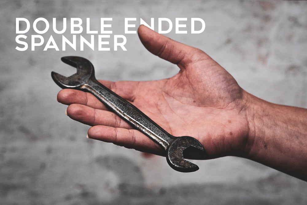 Double ended spanner for your tool bag