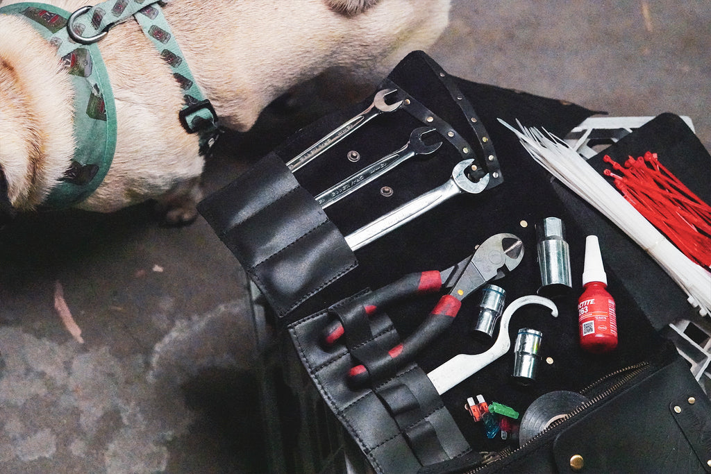essential motorcycle tools to include in your tool roll
