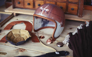 handmade motorcycle helmets by Hedon Workshop | Moto Femmes Australia