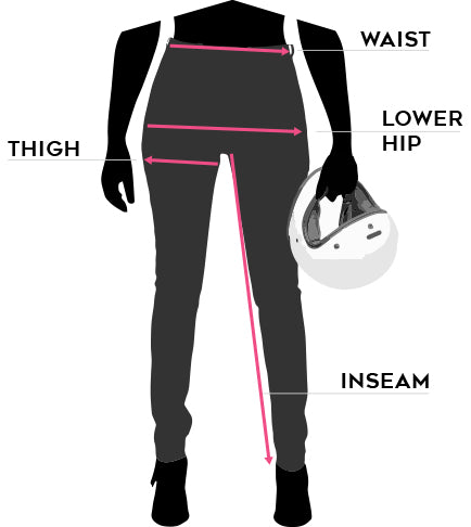 Atwyld Women's Sector Motorcycle Overalls Size Chart