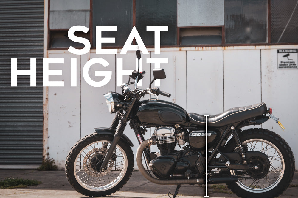 motorcycle seat height